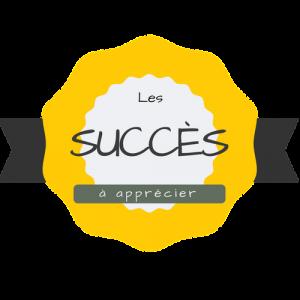 succes label